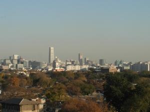 Peking - Blick über die Stadt