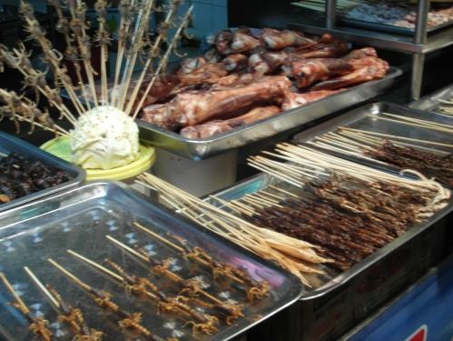 Nachtmarkt Wangfujing